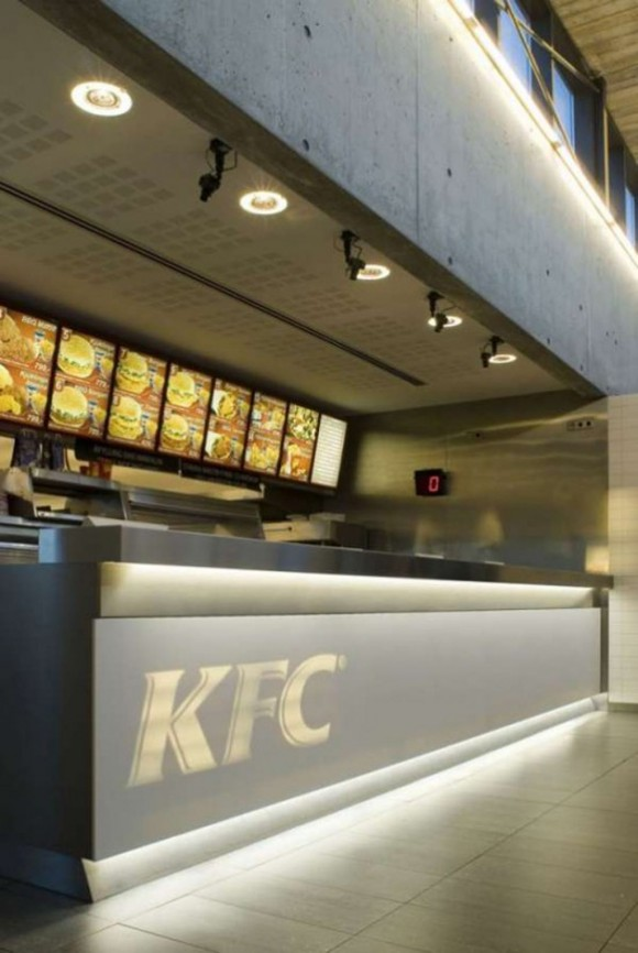 KFC fast food restaurant