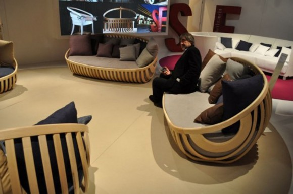 Lucca Trazzi seating collections
