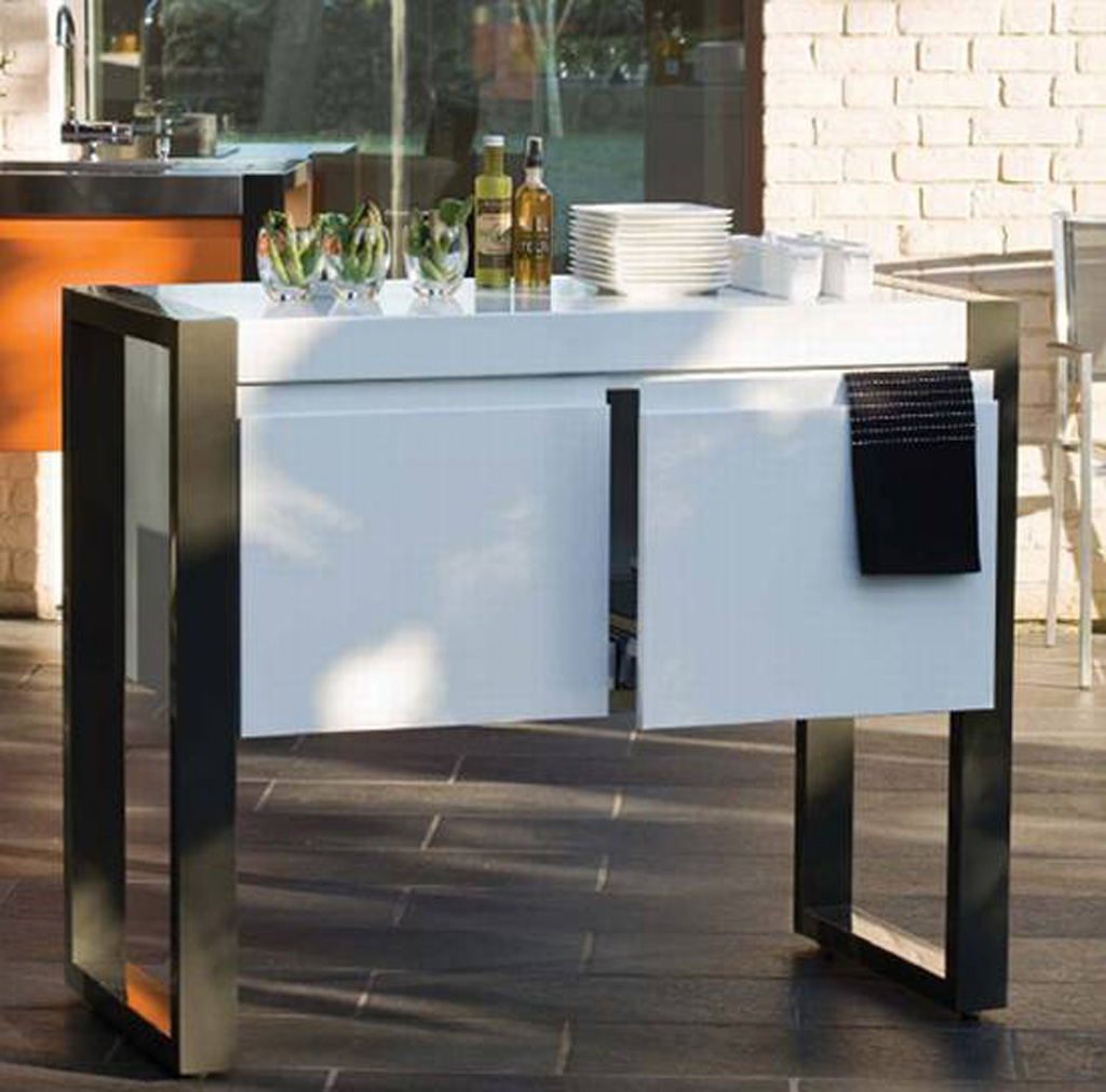Modern Minimalist Outdoor Kitchen Designs