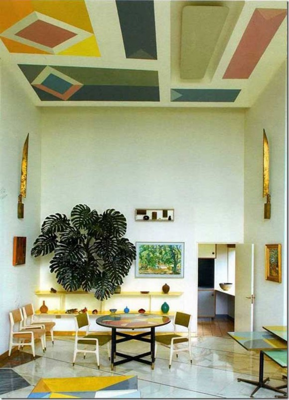 artistic villa decorating ideas