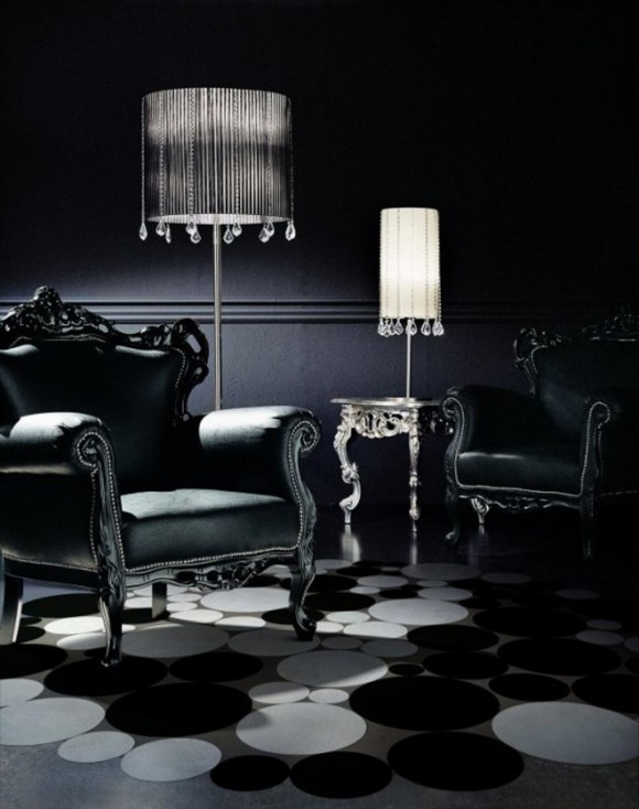 black and white rug designs