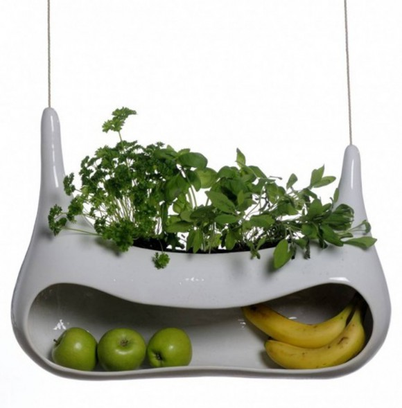 ceramic vegetable storage idea