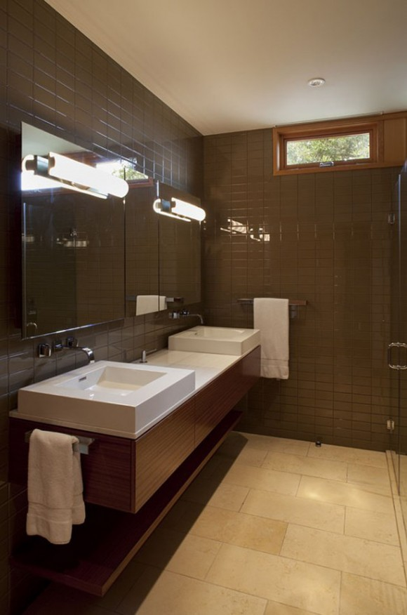 comfortable bathroom design idea