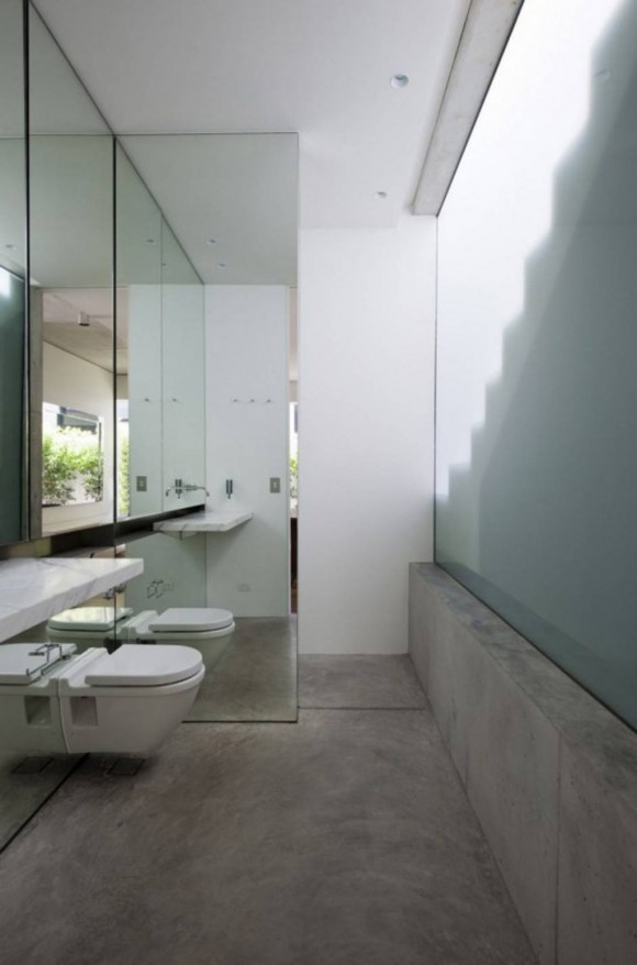 concrete bathroom ideas