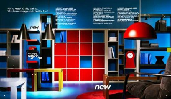 contemporary IKEA bookshelf designs