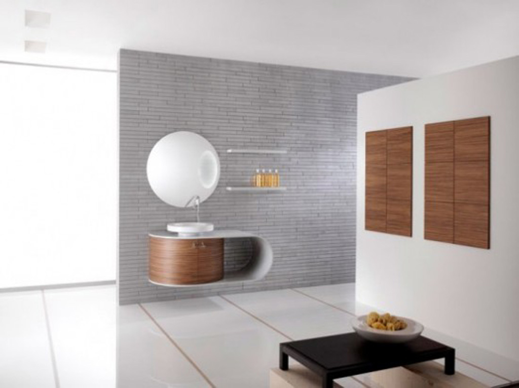 Contemporary bathroom decorating ideas for Bathroom furniture design ideas