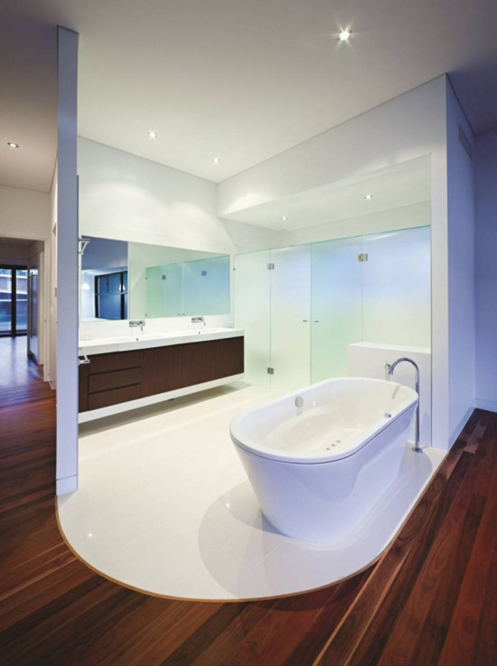 Contemporary bathroom designs for Bathroom designs australia