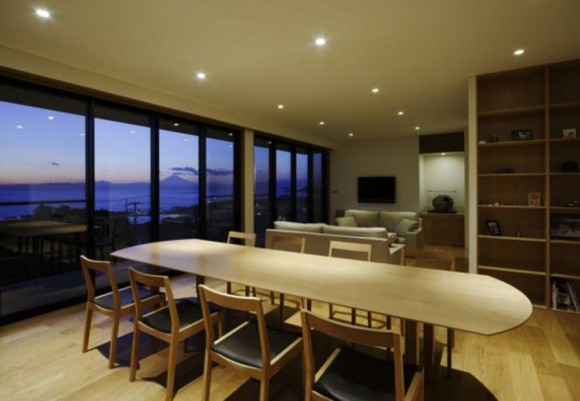 contemporary dining room designs plan