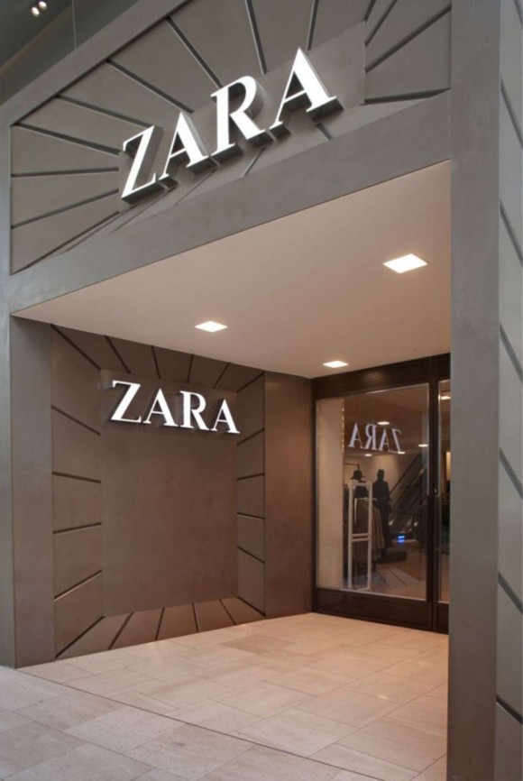 contemporary fashion store interior
