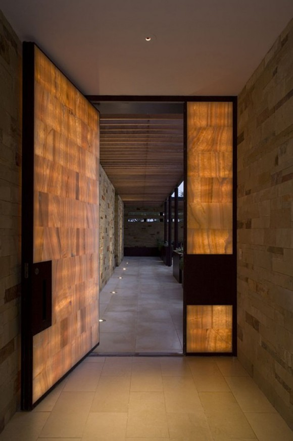 contemporary glass door designs