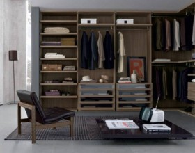 contemporary wardrobe open plan ideas