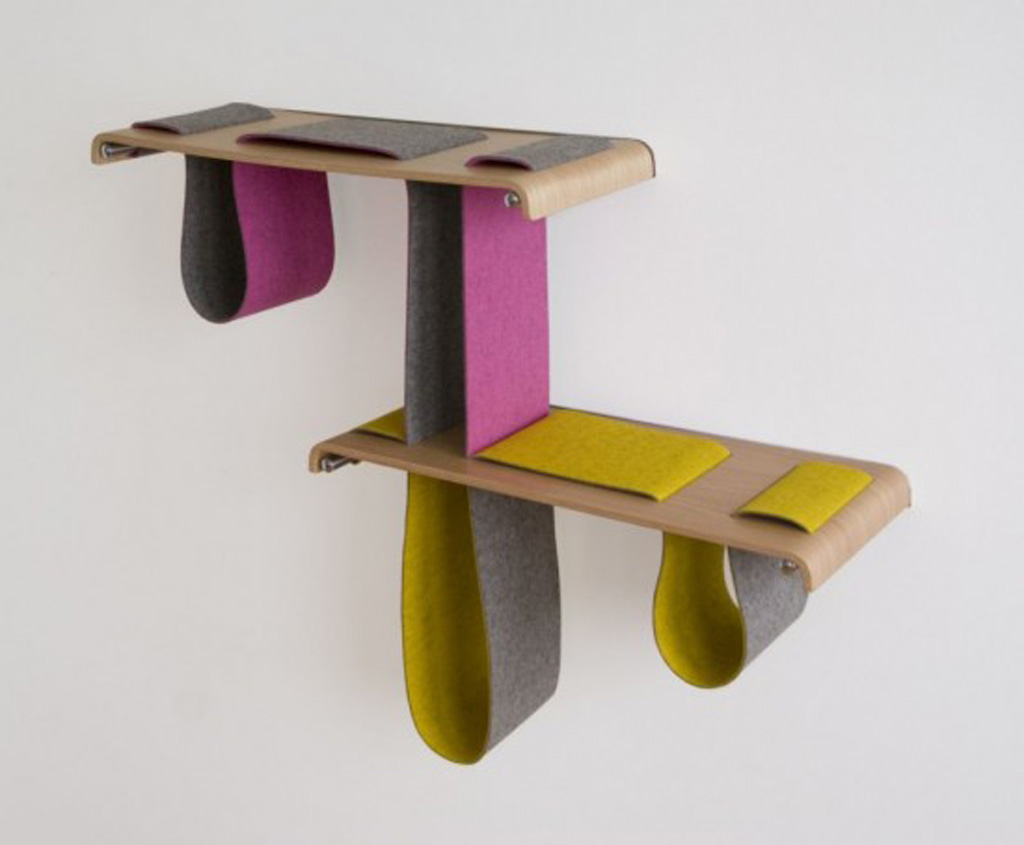 contemporary wooden shelf furniture