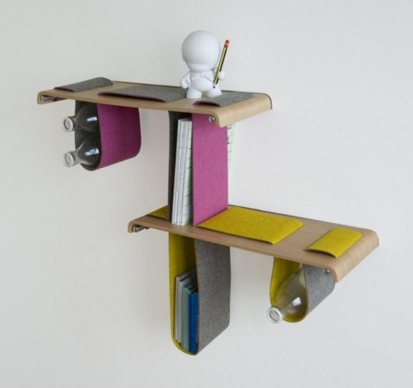 creative shelf designs