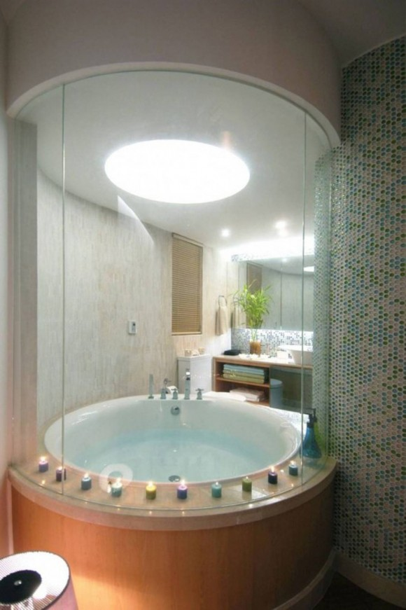 decorative bathroom interior design