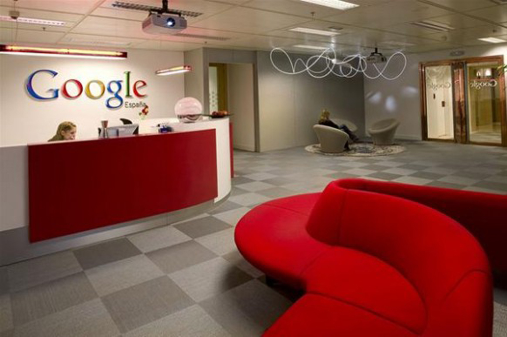 modern google office decoration pictures