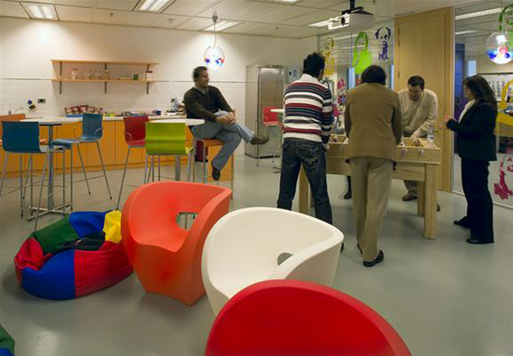 Google office game room pictures for Office design game