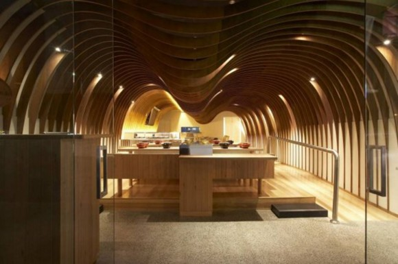 lavish unique restaurant designs