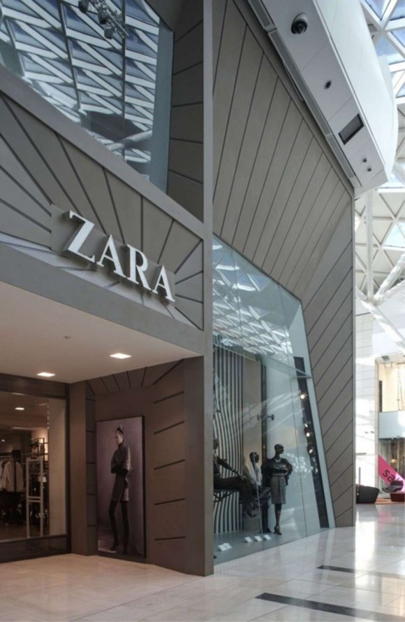 londont zara fashion store
