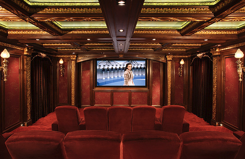 Luxury Home Design on Luxury Home Theater Designs Inspirations With Theme   Iroonie Com