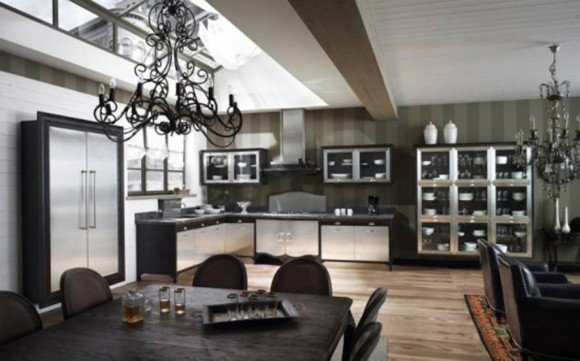 luxury kitchen designs layouts