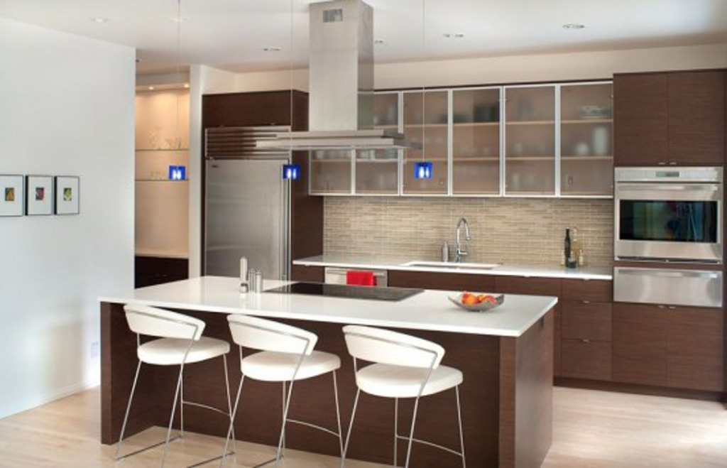 Minimalist kitchen design for Kitchen interior design pictures