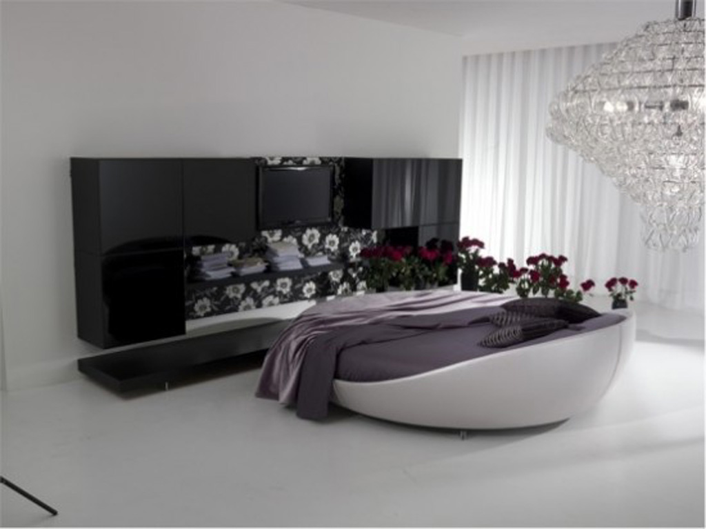 Modern Design Furniture : ... designs idea one of 6 total photos modern round bed designs for modern