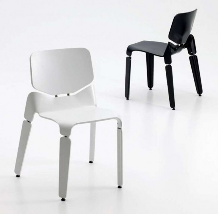 modern black and white chair designs
