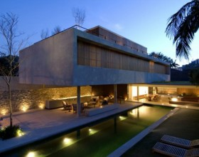 modern concrete house designs idea