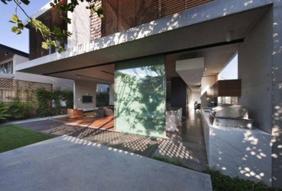 modern concrete house pictures