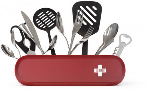 modern kitchen cutlery holder