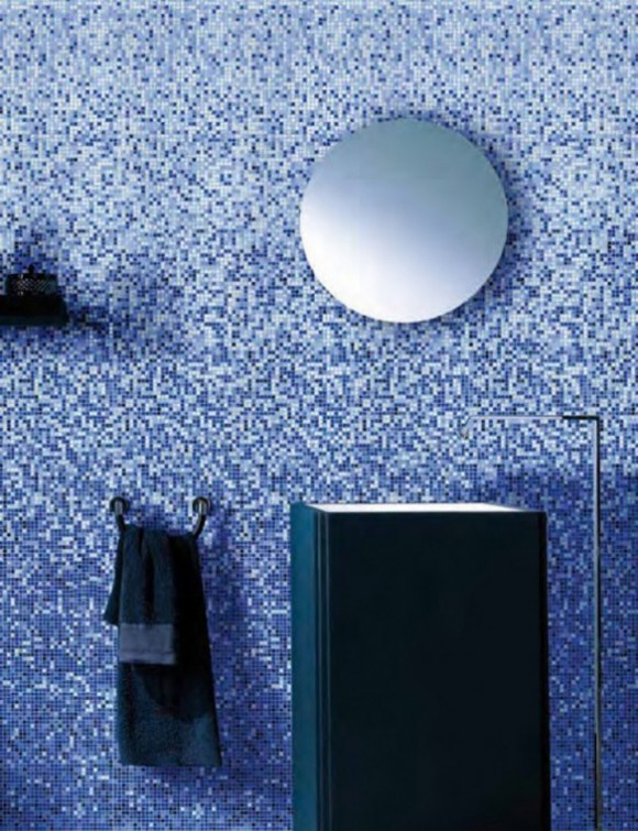 modern mosaic bathroom tile