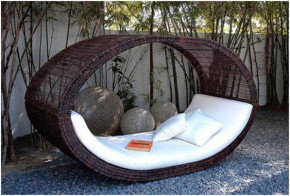 modern outdoor bed plans