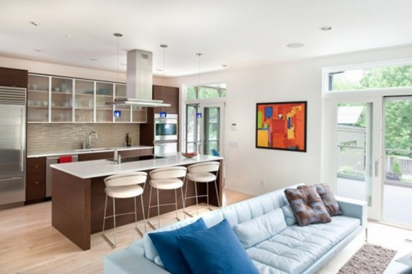 modern urban house interior