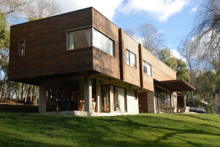 modern wooden house designs