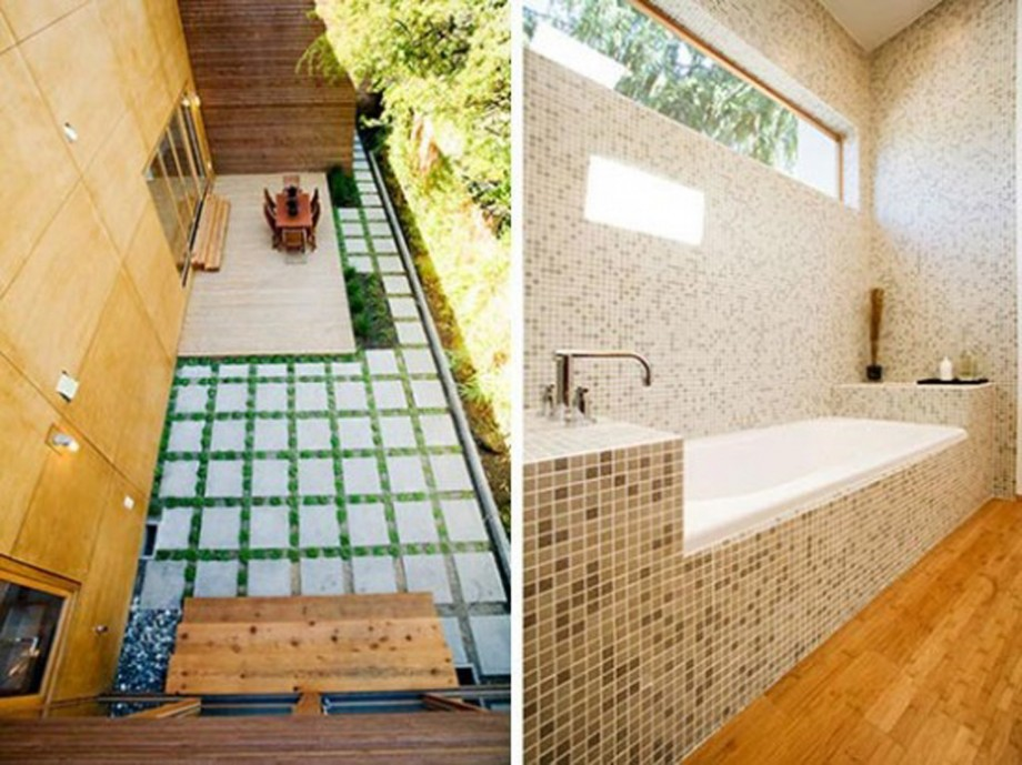 mosaic tile bathroom design