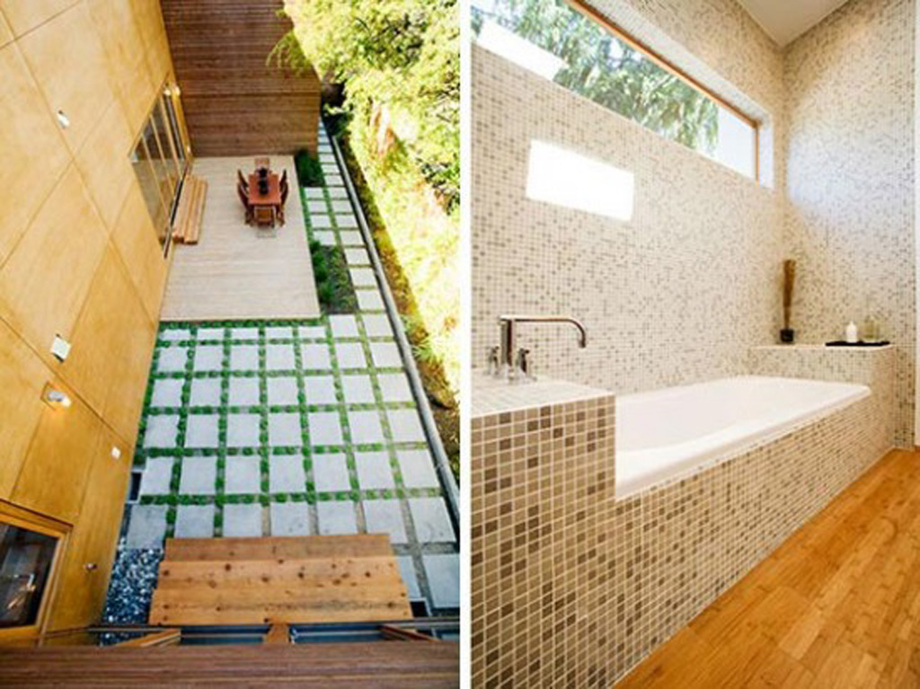 Mosaic tile bathroom design for Bathroom mosaic tile designs