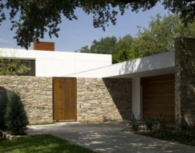 natural concrete house design