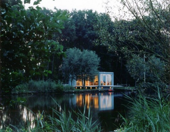 natural private boat house designs