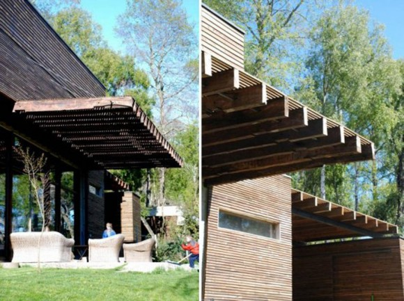 natural wooden house ideas