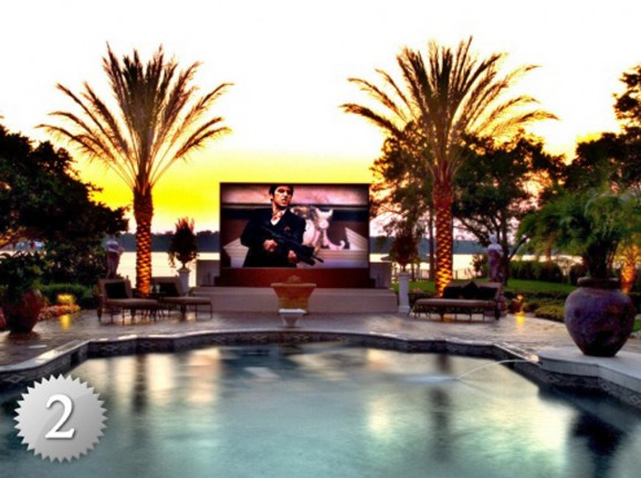 outdoor home theater design ideas