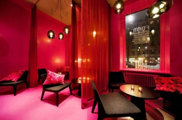 romantic cafe interior design