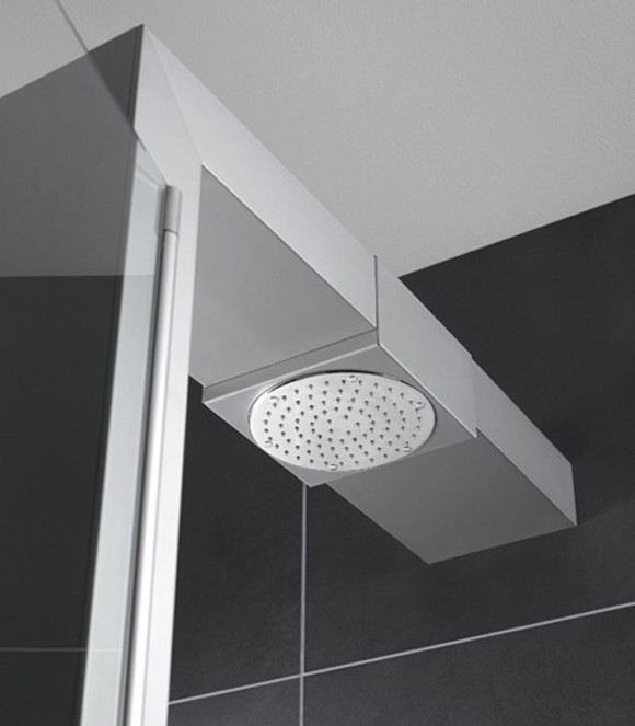 round shower head ideas