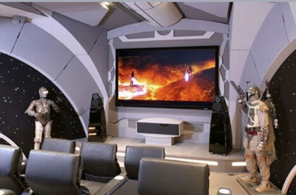 star wars home theater theme inspirations