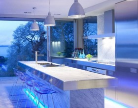 ultra modern kitchen design idea