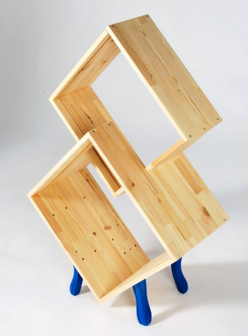 Unique bookshelf designs plans Creative wooden furniture