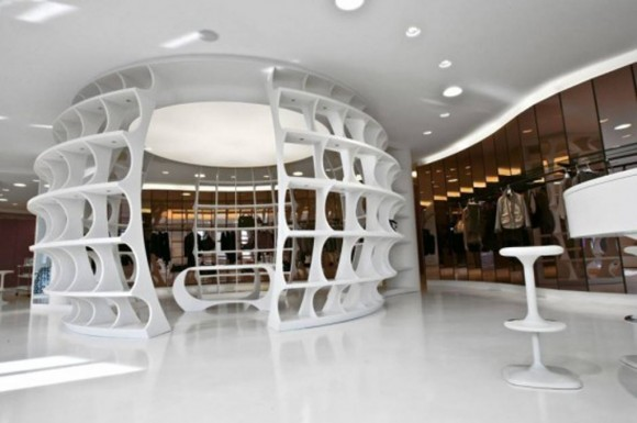 unique modern showroom designs