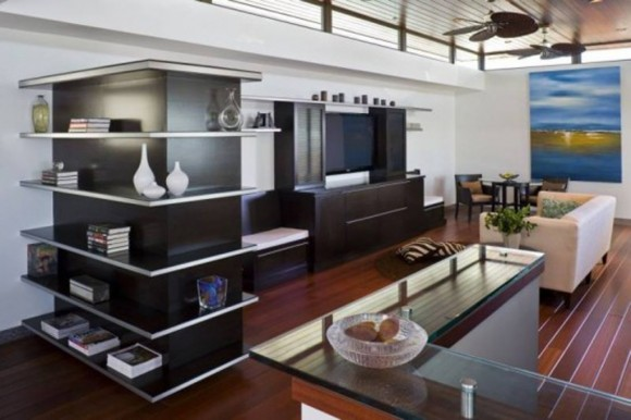 wooden home theater furniture ideas