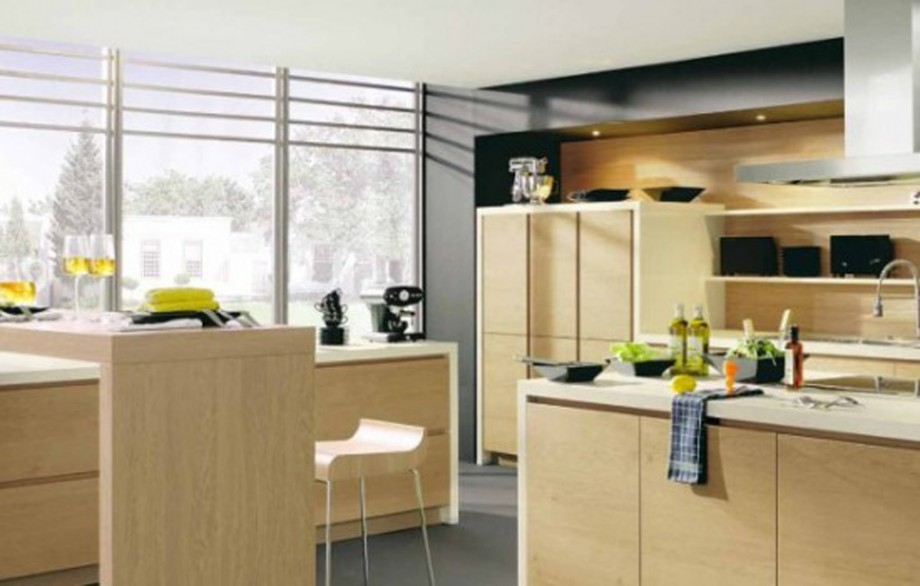 wooden kitchen furniture design