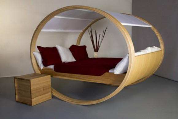 wooden private bed designs