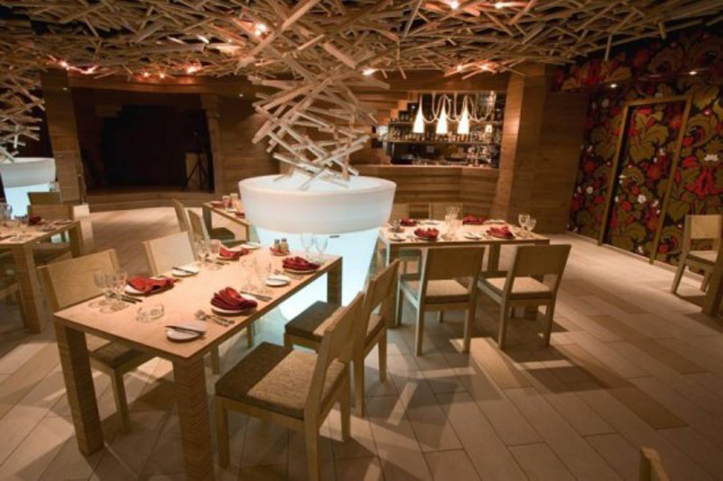 Wooden restaurant furniture plans for Ristoranti design